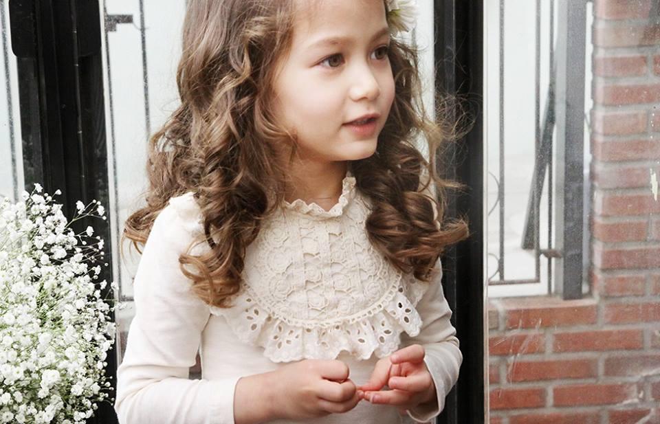 Bluza cocheta cu guler brodat model Florence